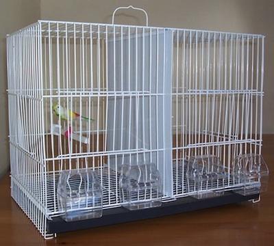 Las jaulas para aves