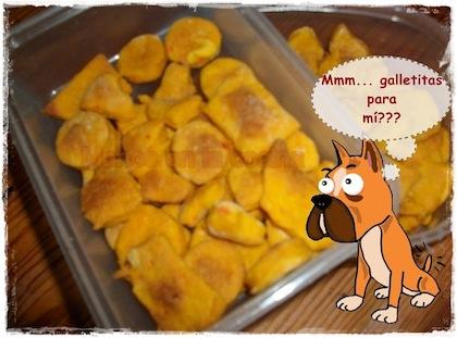Ricas galletas para perros